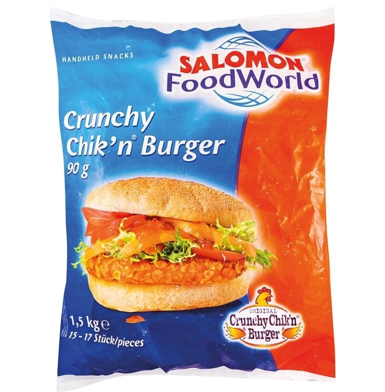 Bild von Crunchy Chicken Burger