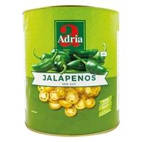 Bild von Adria Jalapenos, grün in Scheiben
